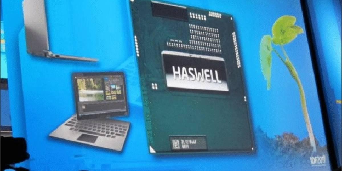 Las distintas variantes de los CPUs Intel basados en Haswell