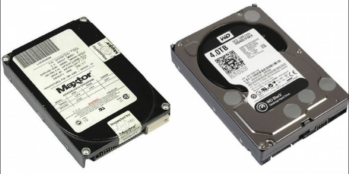 """21 años de evolución del disco duro (HDD) de 3.5"""": 1991 vs 2012"""
