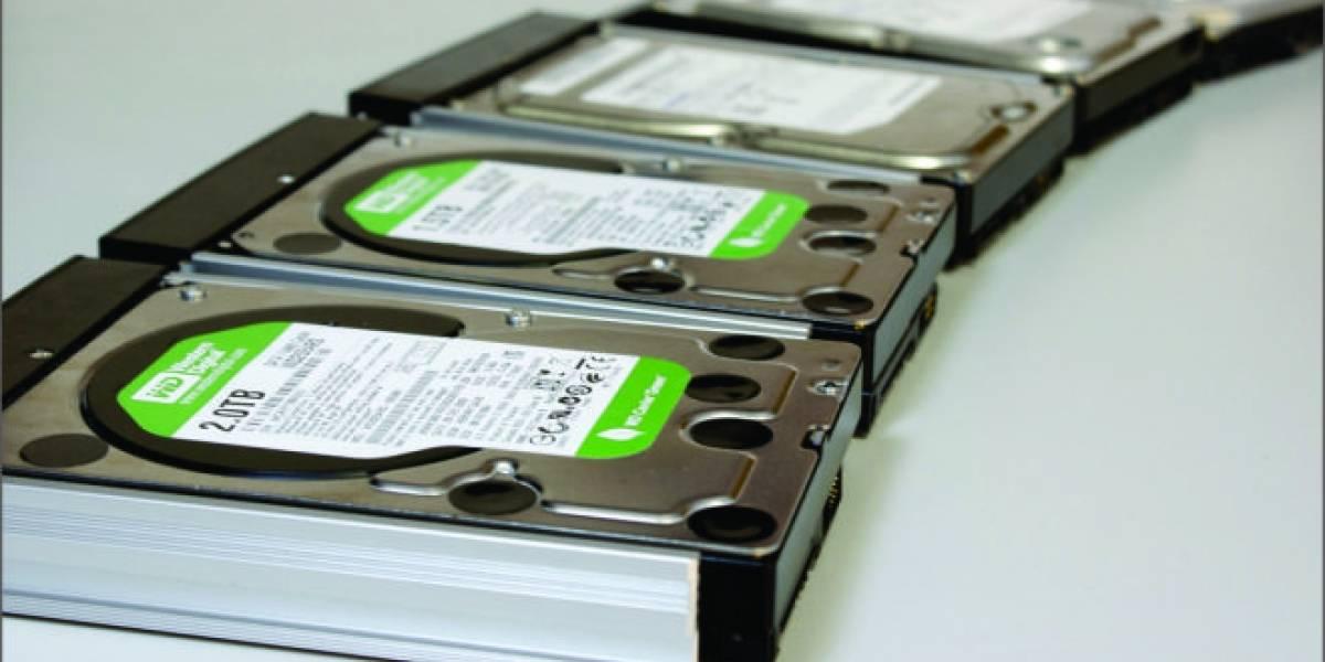 "25 discos duros SATA-III de 3.5"" a prueba"
