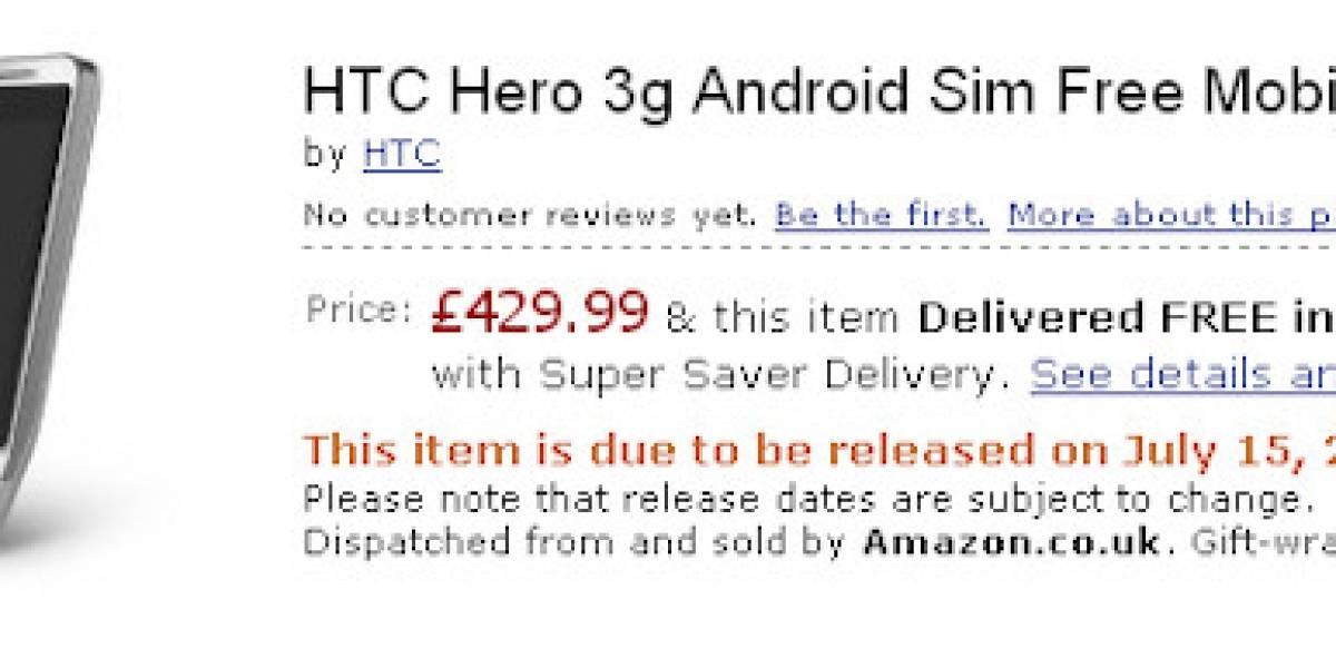 HTC Hero ya está en preventa