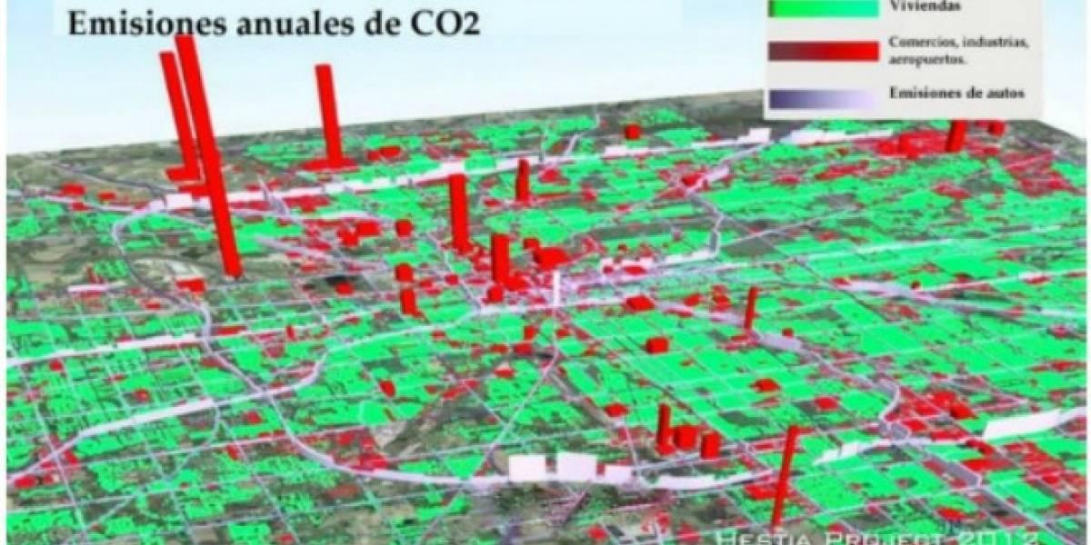 Software permite medir emisiones en edificios y calles