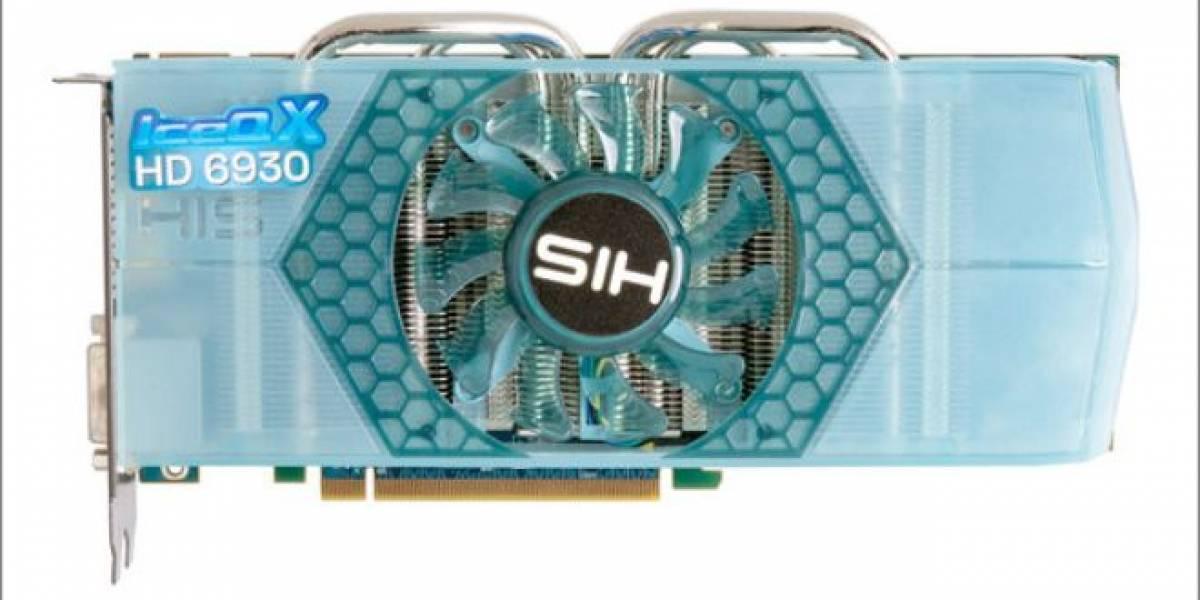 HIS 6930 IceQ X 1GB: AMD Radeon HD 6930 hace su aparición