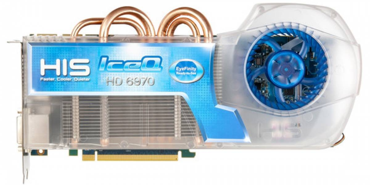 HIS lanza HD 6970 IceQ Eyefinity RTS (Ready-To-See)