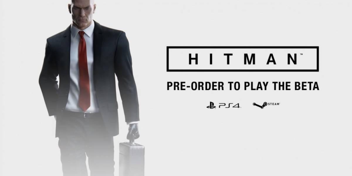 Hoy inicia la beta de Hitman en PlayStation 4