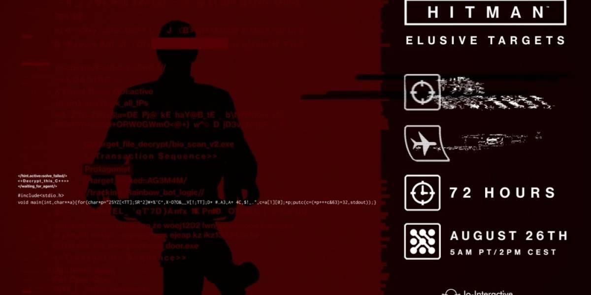 Ya está disponible el noveno Elusive Target en Hitman
