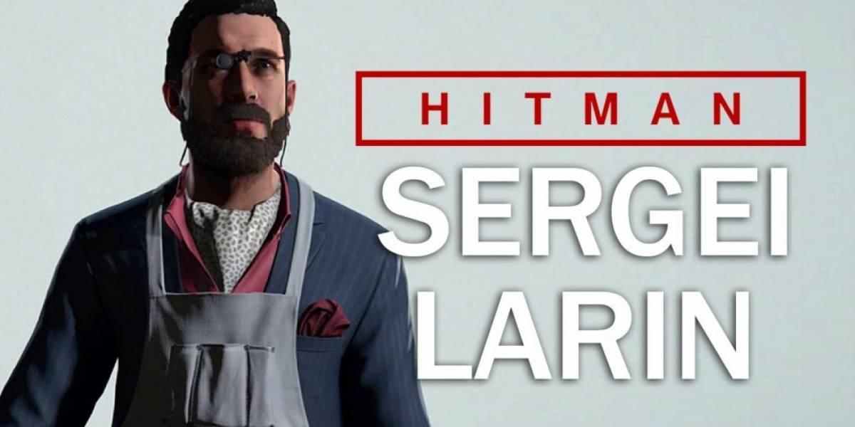 La mitad de jugadores de Hitman no pudieron asesinar a Sergei Larin
