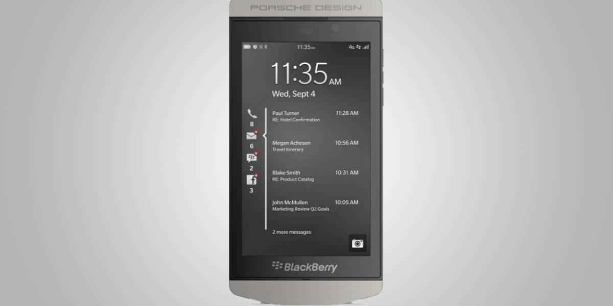 BlackBerry presenta el Porsche Design P'9982, su nuevo equipo de lujo