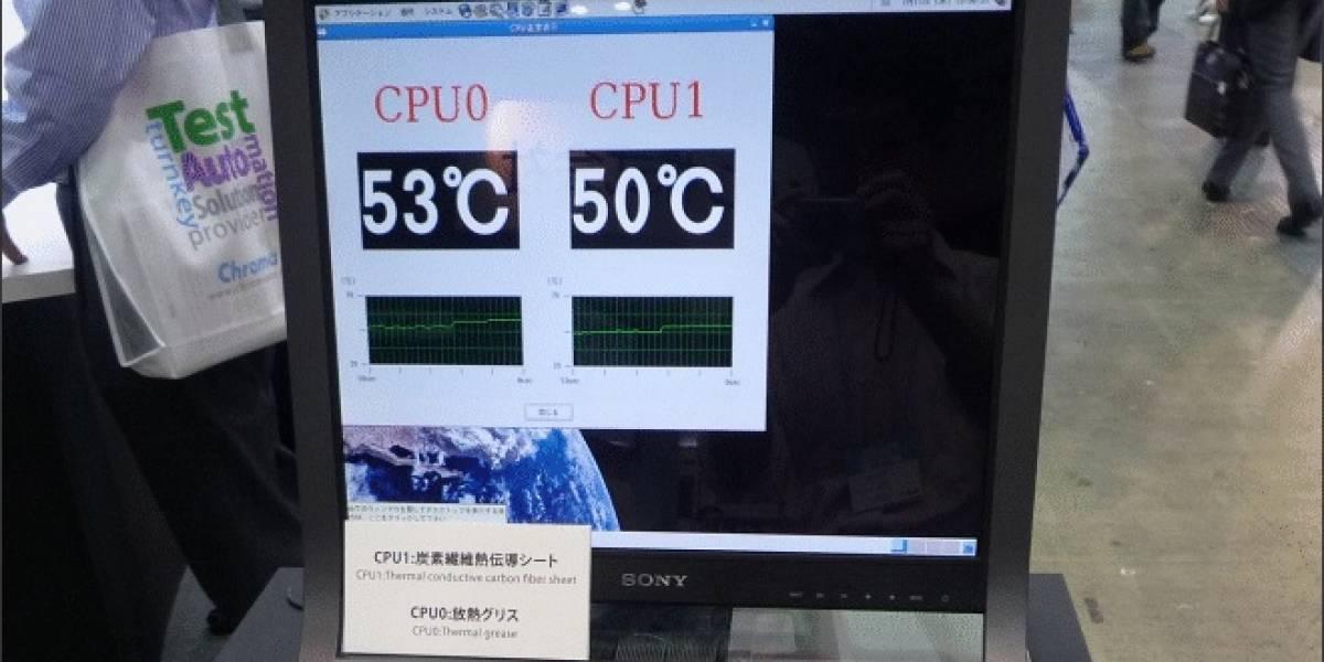 Sony realiza demostración de su nueva hoja conductora térmica