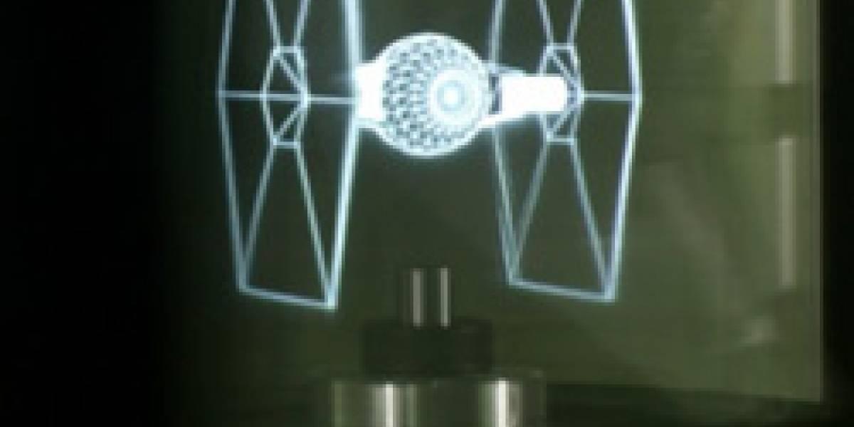 SIGGRAPH 2007: Interactive 360 Light Field Display, como en Star Wars