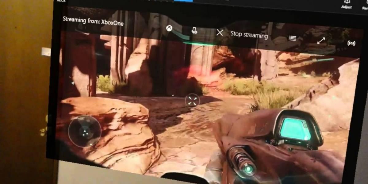 Así se juega Halo 5 con HoloLens