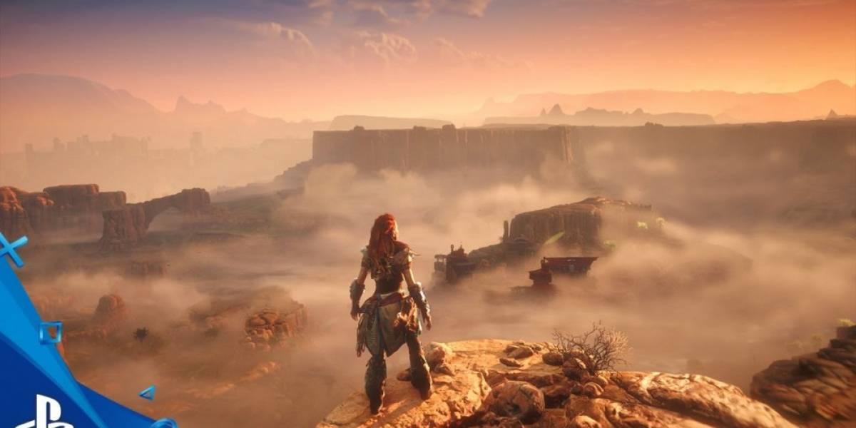 Horizon Zero Dawn se muestra en 8 minutos de jugabilidad #E32016