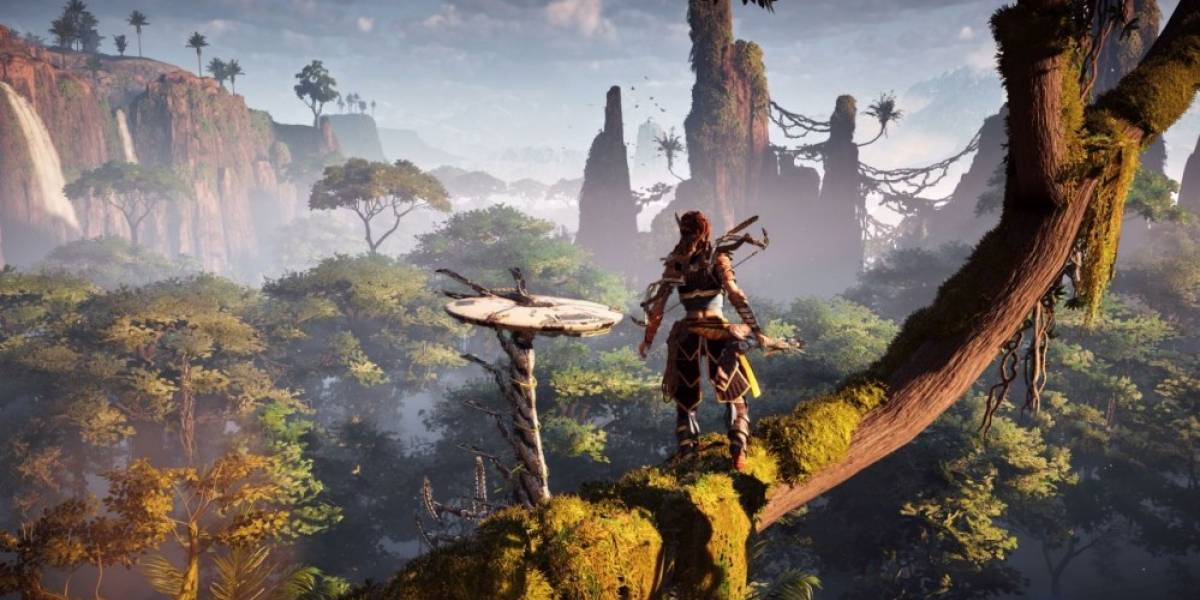 Vean a Horizon: Zero Dawn corriendo en una PS4 Pro
