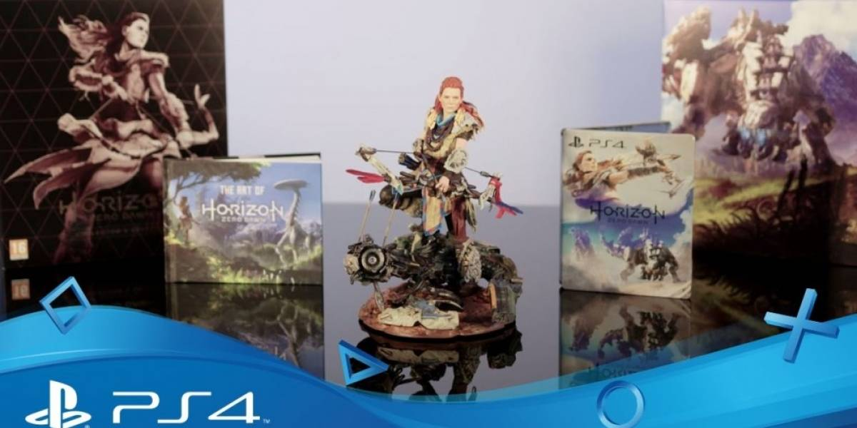 Presentan unboxing de la edición coleccionista de Horizon: Zero Dawn