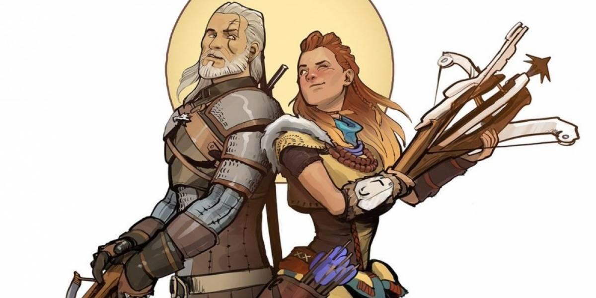 Creadores de The Witcher 3 rinden tributo a Horizon: Zero Dawn