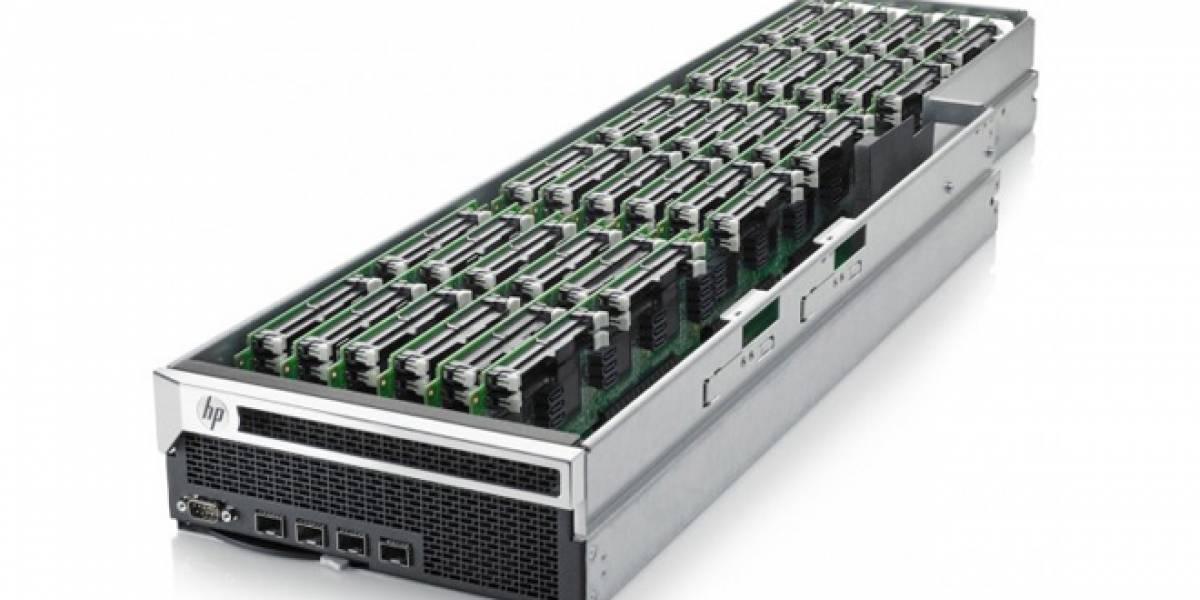 HP traiciona los chips ARM Calxeda para servidores y va por Intel Centerton