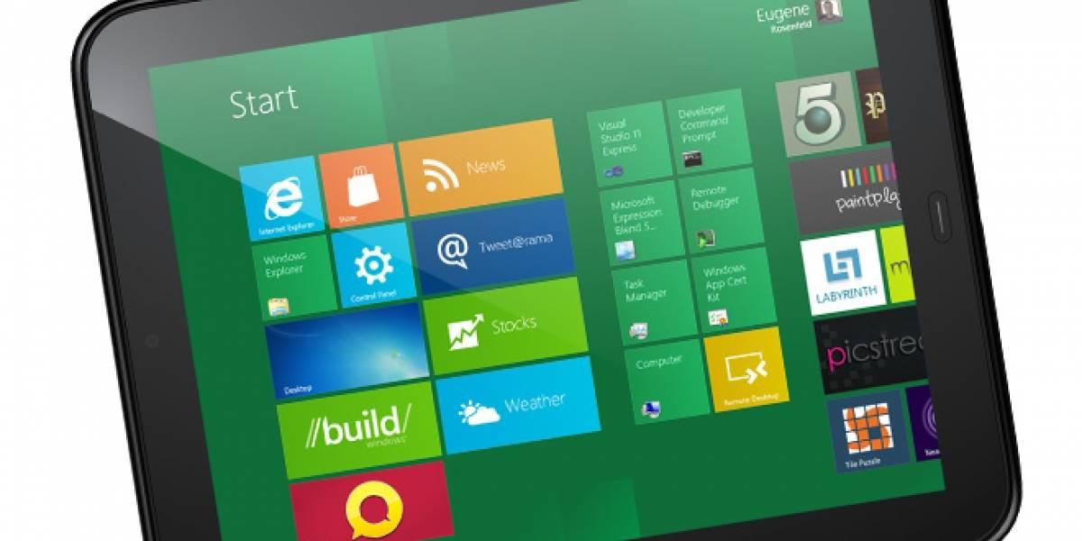 Windows 8 será el sucesor de webOS en los próximos tablets de HP