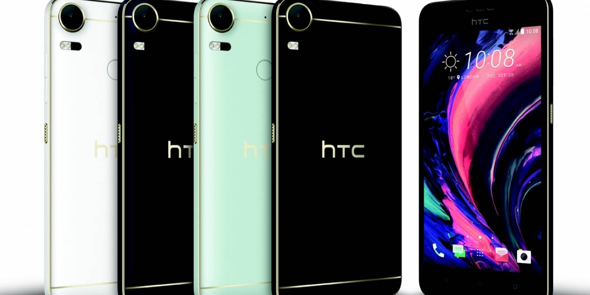 HTC Desire 10 Pro disponible ya en México