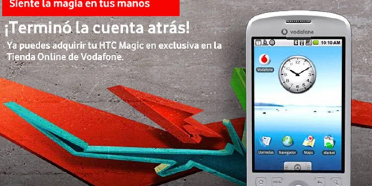 El HTC Magic debutó sorpresivamente hoy en España