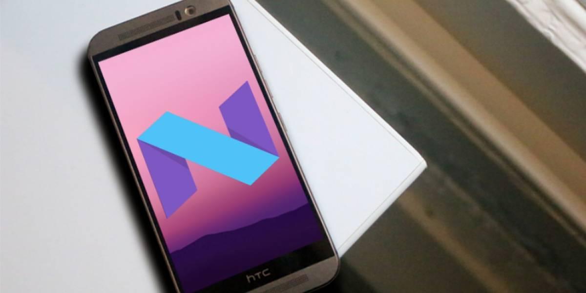 HTC One M9 recibe actualización a Android 7.0 Nougat