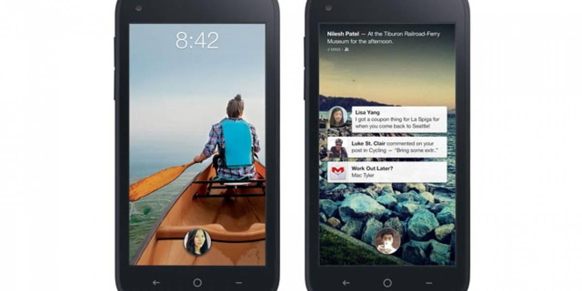 Se filtra una versión beta de Facebook Home para Android