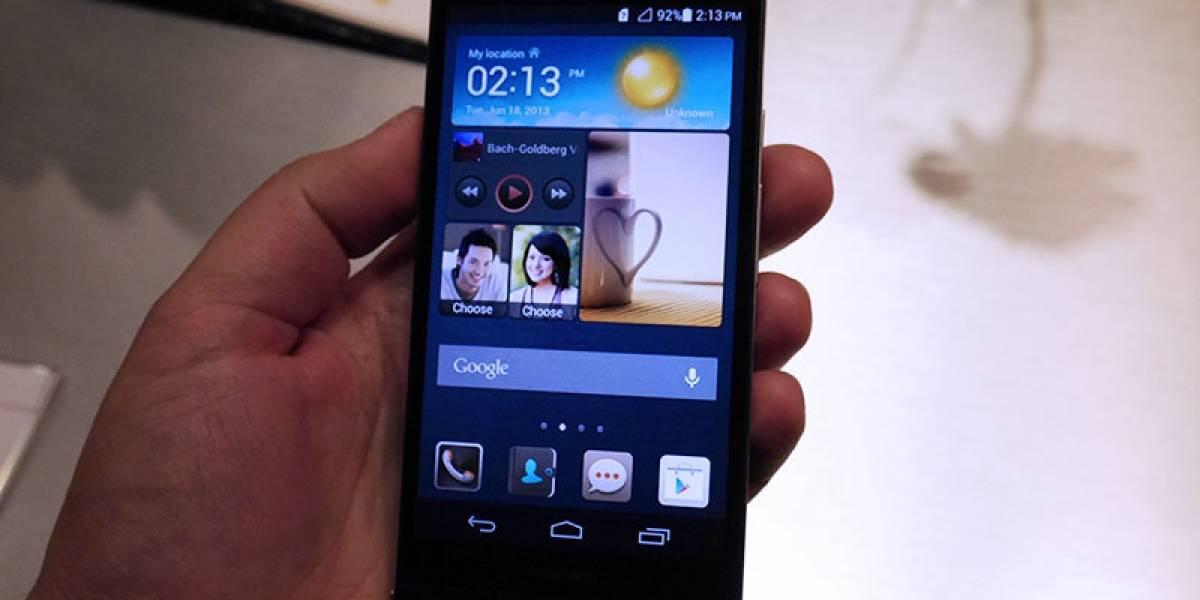 Huawei Ascend P6 [A primera vista]