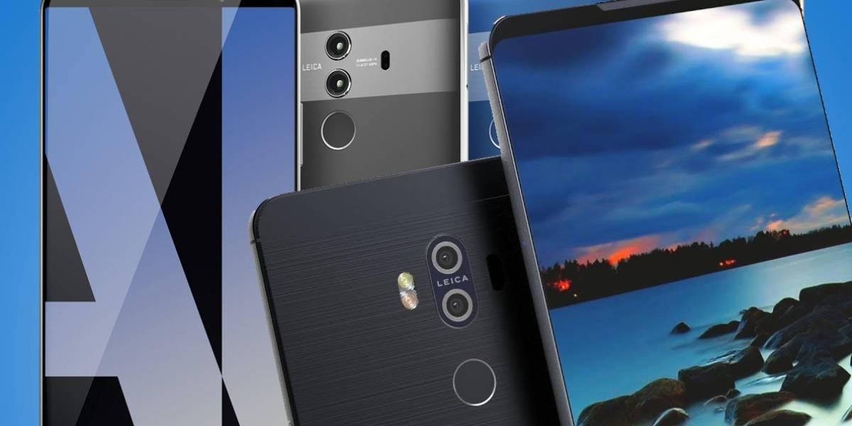 Kaboom: esta es la nueva familia Huawei Mate 10 con Inteligencia Artificial