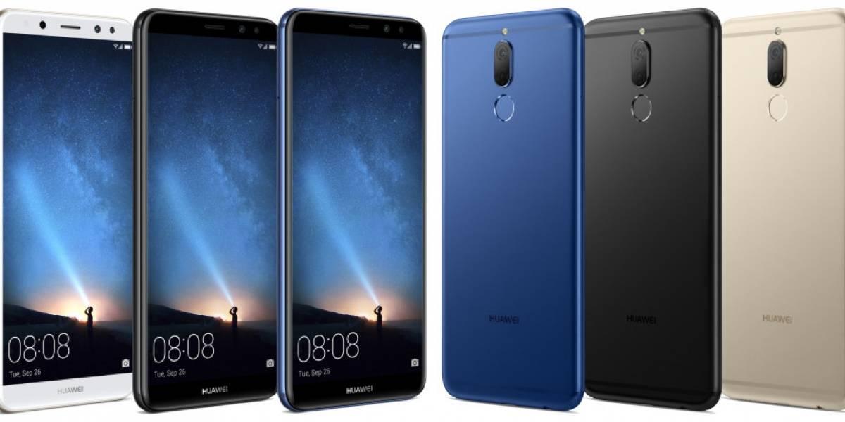 Huawei hace oficial su nuevo teléfono con cuatro cámaras, el Maimang 6