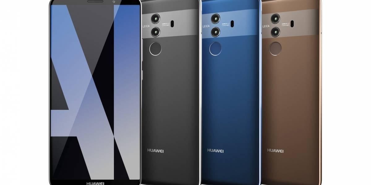 Aparecen nuevas imágenes y especificaciones de modelos del Huawei Mate 10