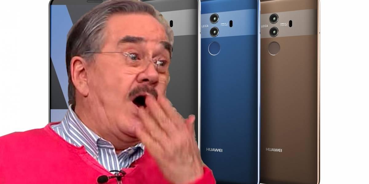 El Huawei Mate 10 PRO ya tiene rostro gracias a filtración