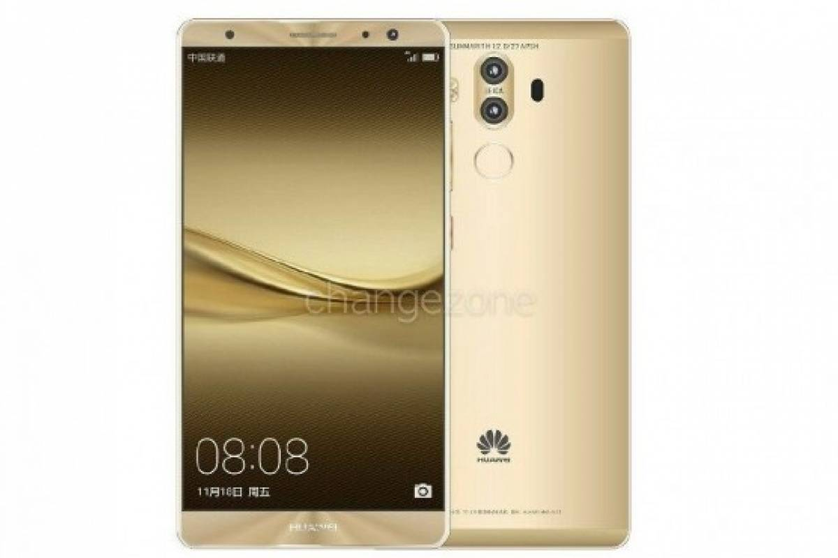 Se filtra el Huawei Mate 9 con 6 GB de RAM y 256 GB de almacenamiento