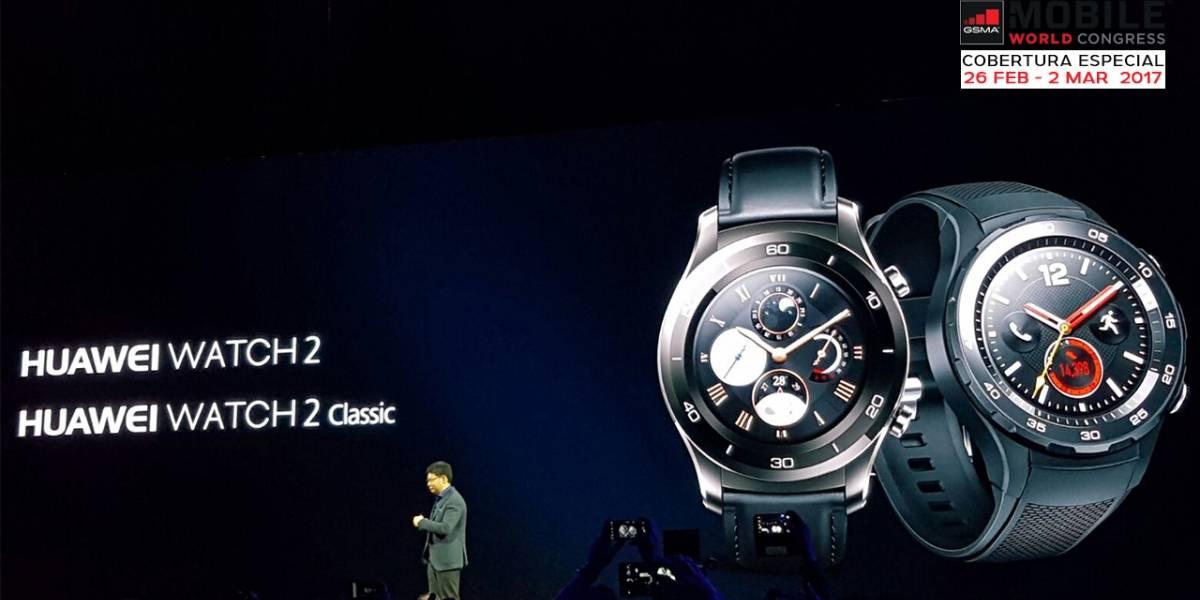 Huawei anuncia su nuevo Huawei Watch 2 #MWC17