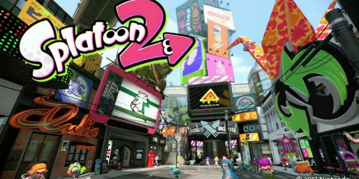 Nintendo revela un nuevo mapa de Splatoon 2