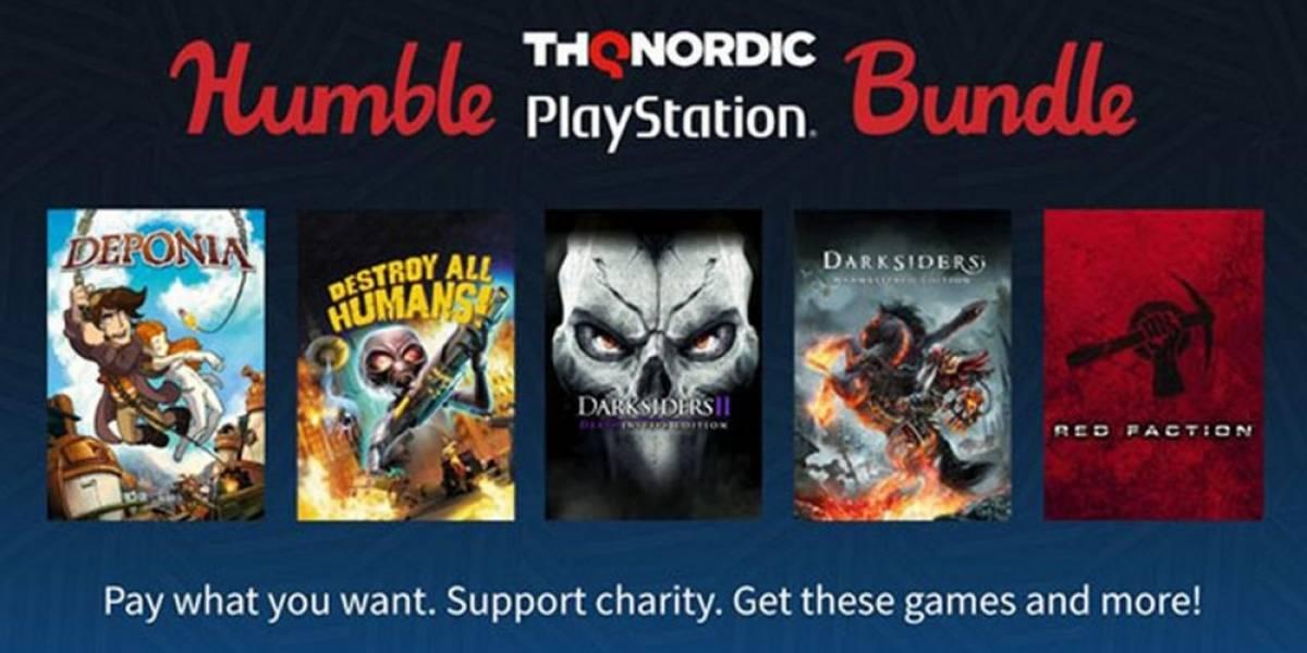 Humble Bundle de THQ ofrece 15 juegos de PlayStation por USD $15