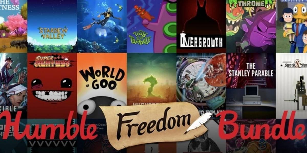 Se lanza el Humble Freedom Bundle con una gran cantidad de juegos por USD $30