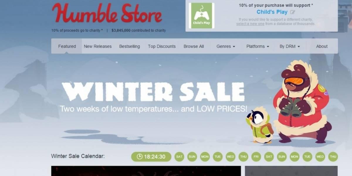 Arranca la venta especial de invierno en Humble Store