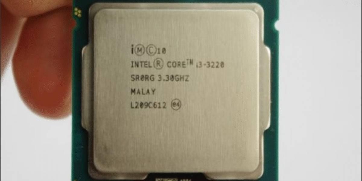 """Intel Core i3-3220 """"Ivy Bridge-DT"""" probado con 10 juegos"""