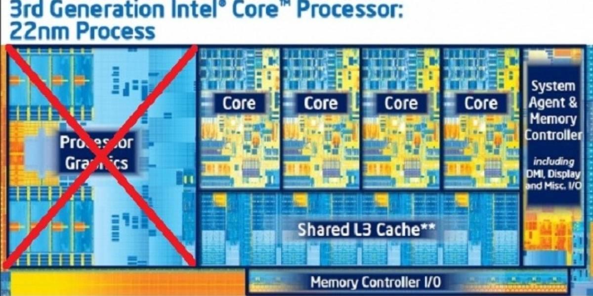 CPU Intel Core i5-3350P sin IGP costará US$ 177