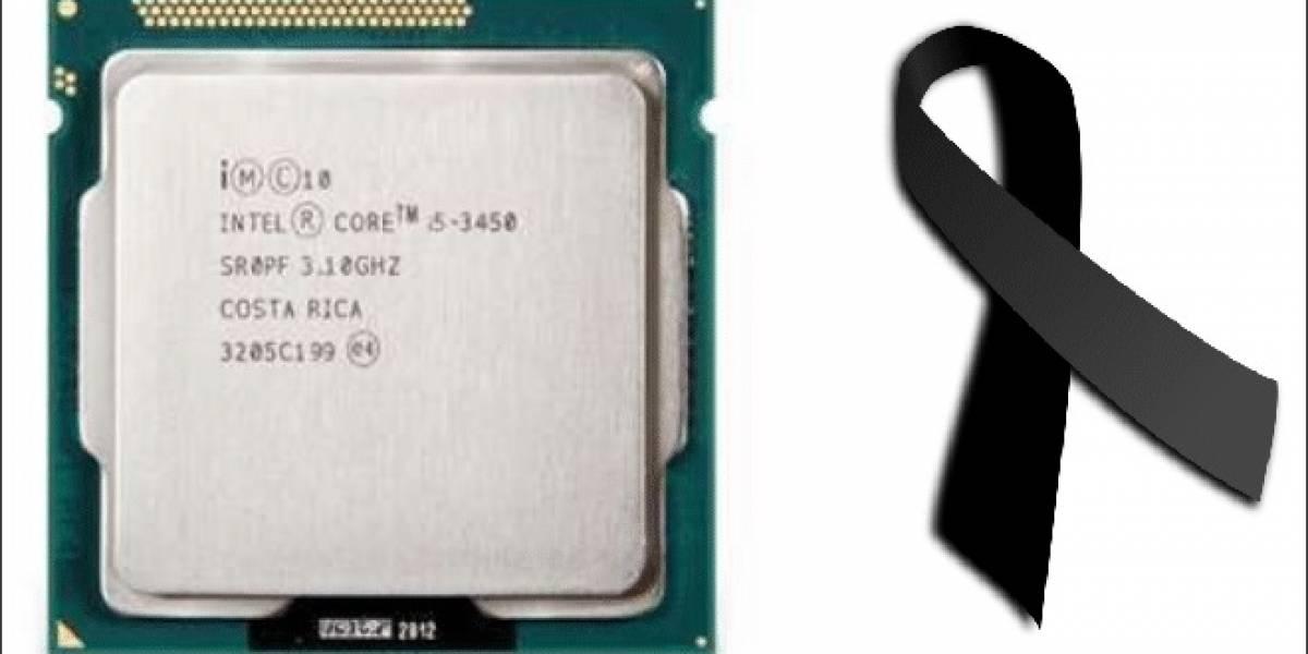 "Intel descontinúa su CPU Core i5-3450 ""Ivy Bridge-DT"""