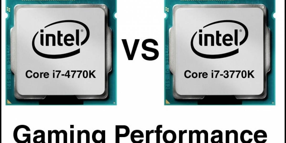 Core i7-4770K y Core i7-3770K probados con 8 juegos