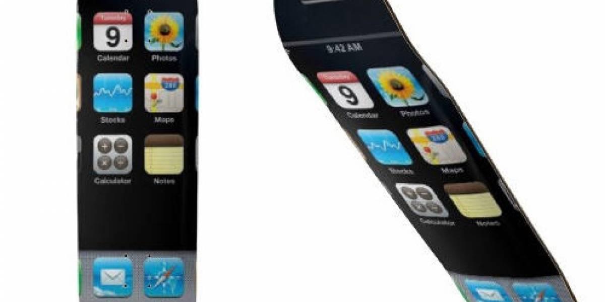 Lo que faltaba: Un skateboard con diseño iPhone