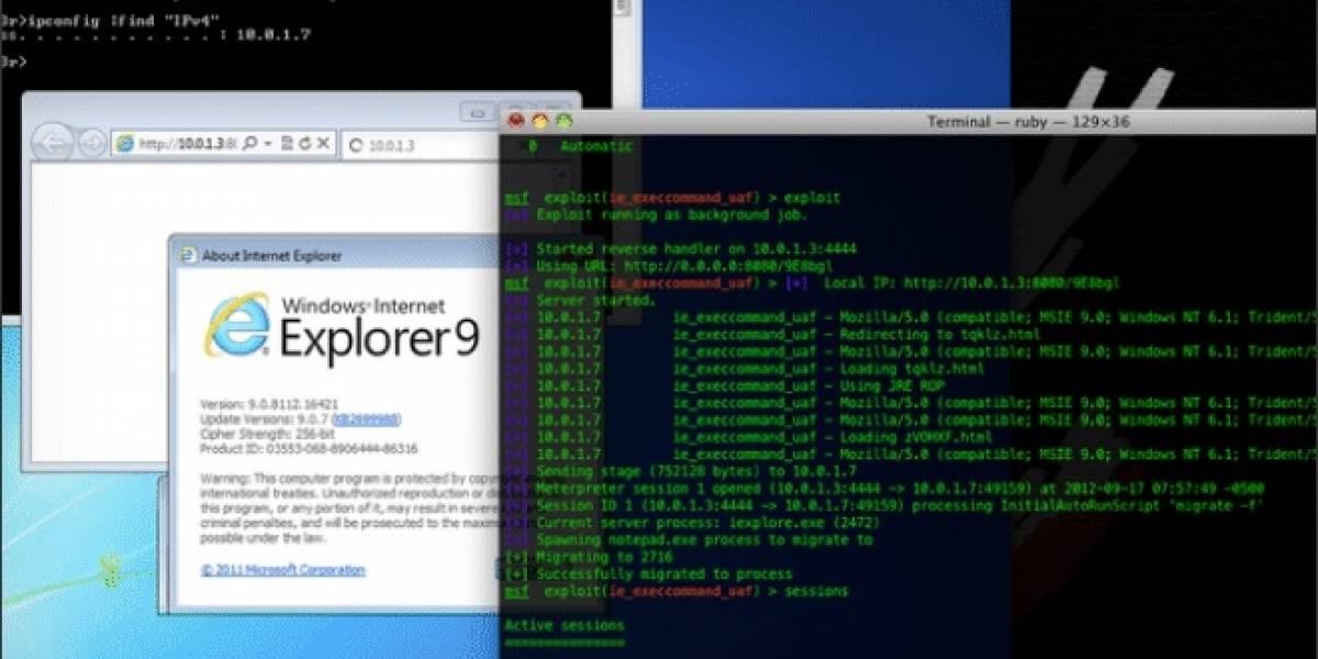 Microsoft prepara un parche para el bug Zero-Day Attack de Internet Explorer