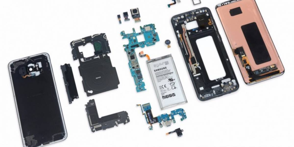 El Galaxy S8 es muy difícil de reparar de acuerdo a iFixit