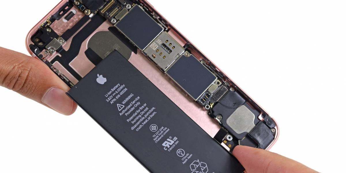 No, no te cambiarán gratis la batería de tu iPhone 6