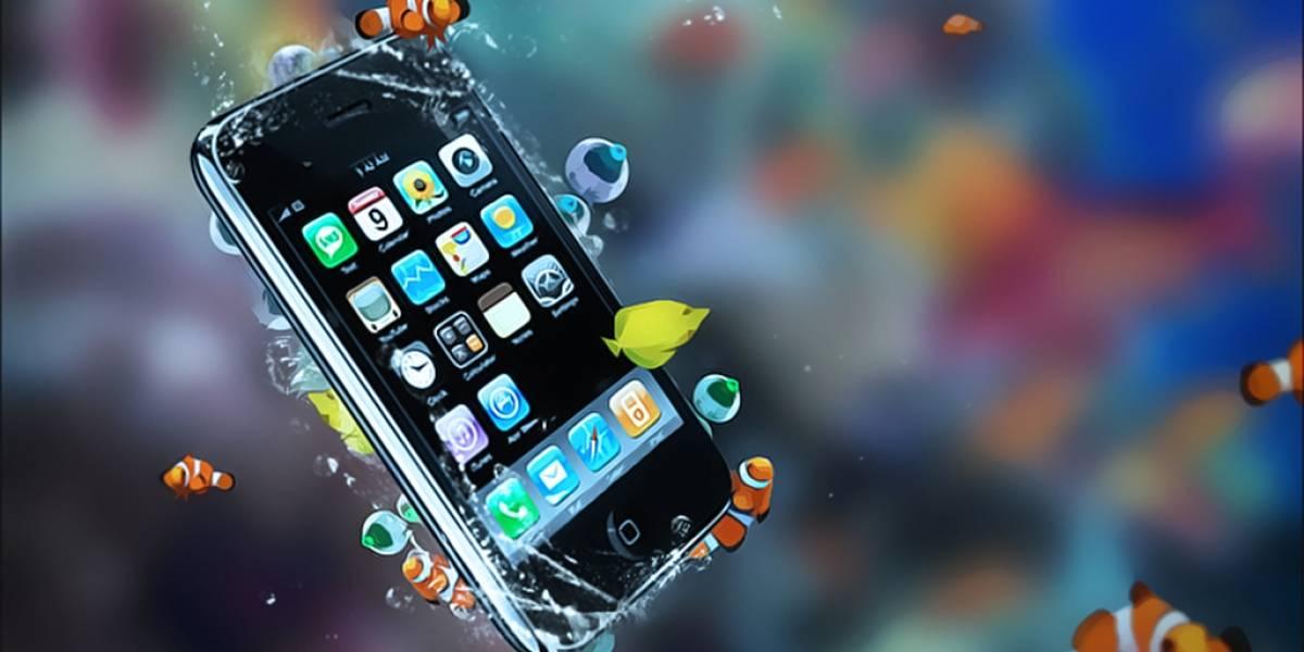 iPhone pasa meses en el fondo de un lago y aún funciona