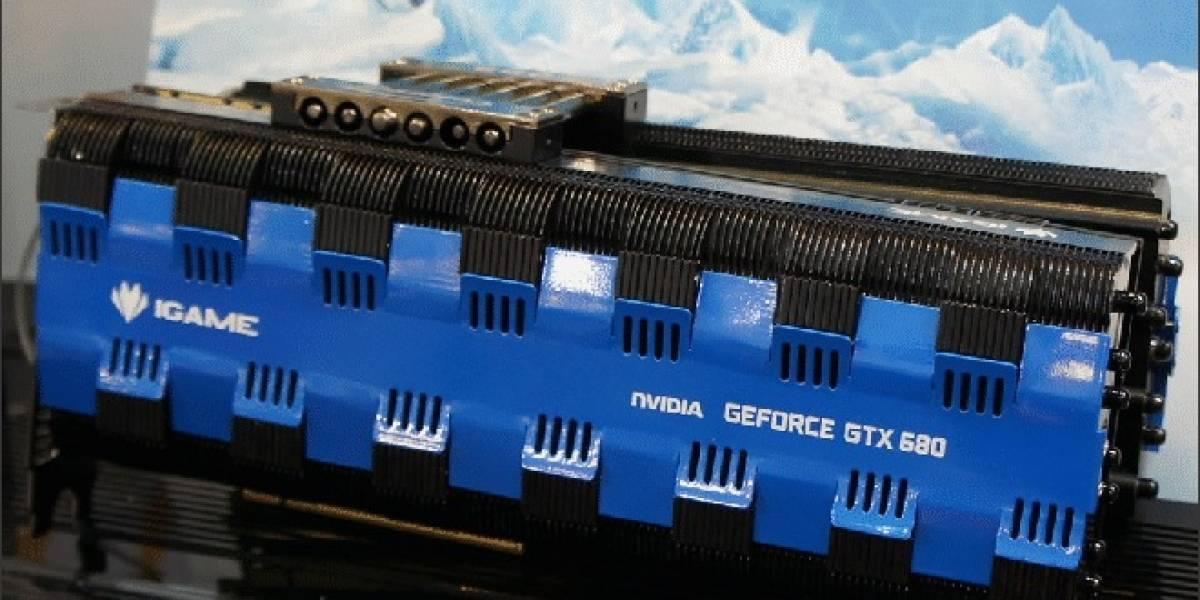 Colorful presenta su tarjeta de video pasiva GeForce GTX 680 iGame