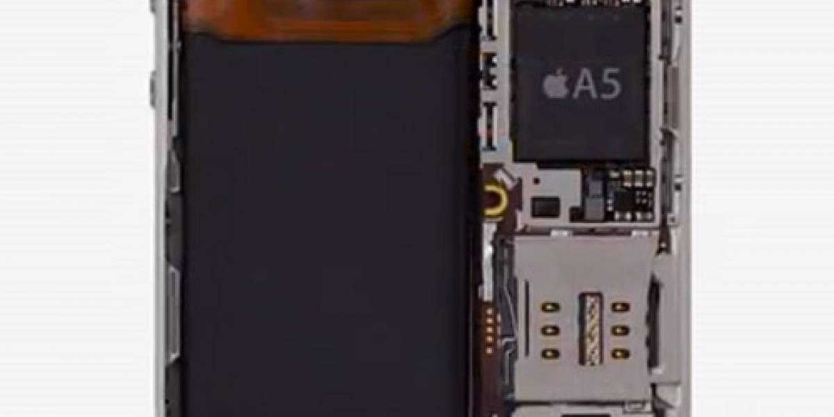 Costo del hardware en el iPhone 4S sería de $203 dólares