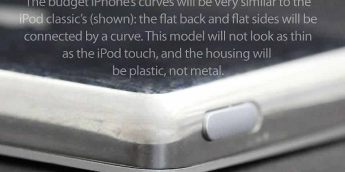 """Revelan detalles de cómo será el diseño del iPhone """"de bajo costo"""""""