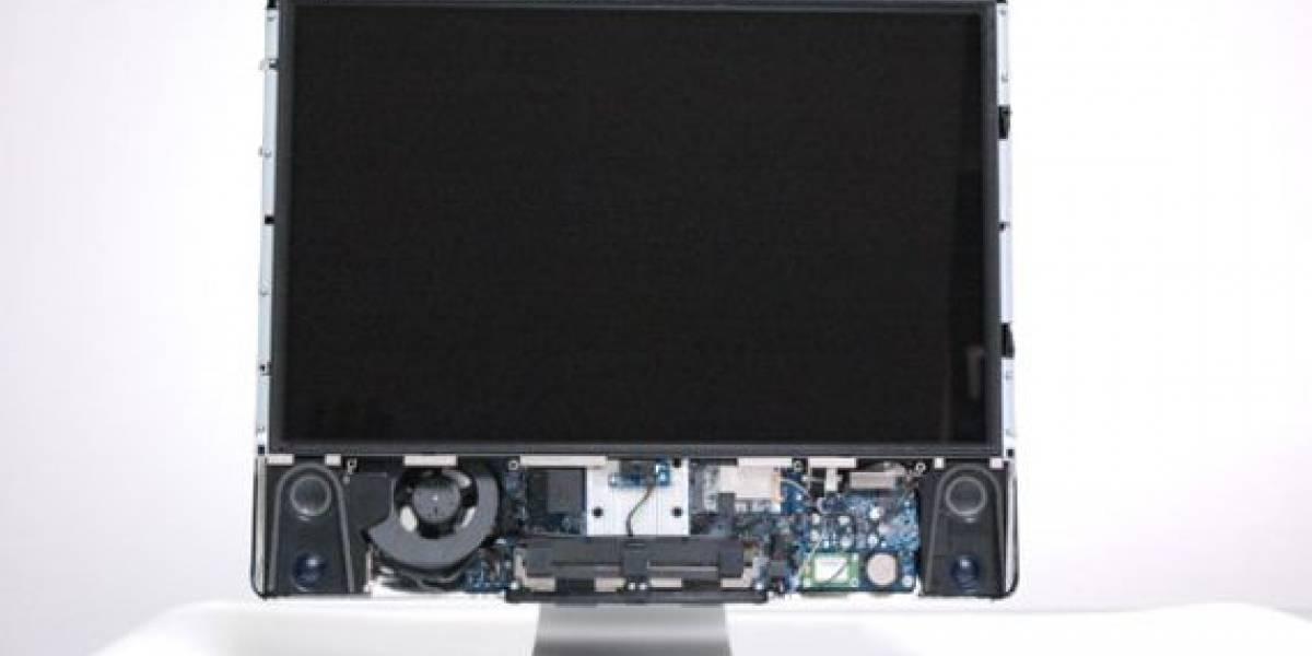 El nuevo iMac en paños menores
