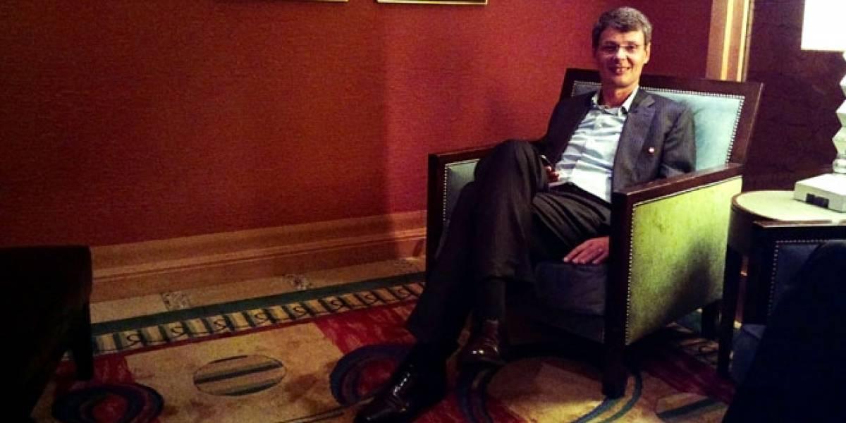"""Thorsten Heins, CEO de RIM: """"Aprendimos de nuestros errores para construir nuestro futuro"""""""