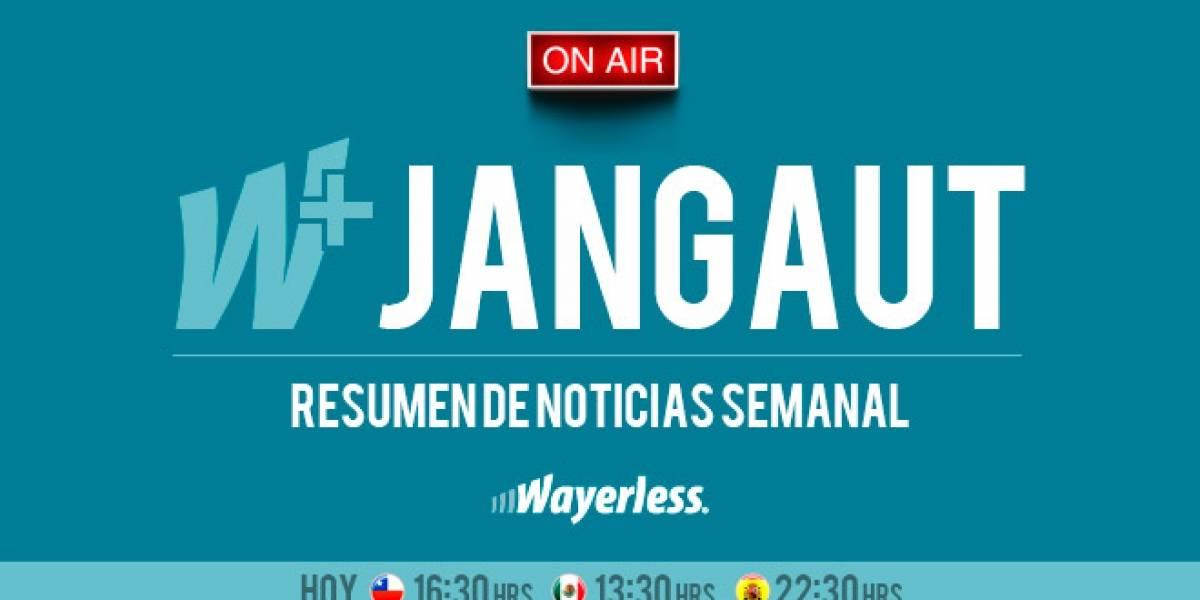 Revisemos las noticias de la semana en un nuevo #wjangaut